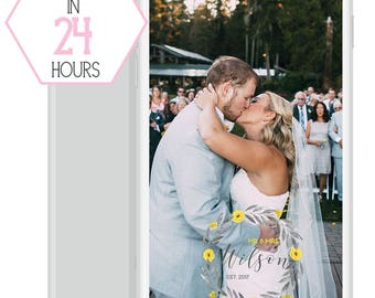 Spring Wedding Snapchat Filter. Geofilter. Customized