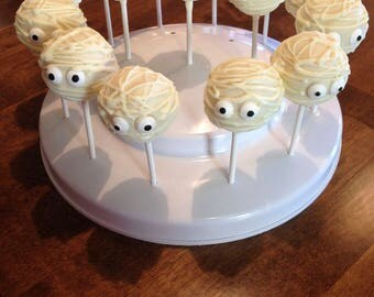 Halloween Cake Pops Mummies Halloween Party Favors Birthday Party Favors