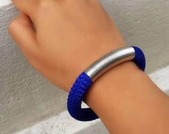 Blue bracelet - bracelet for women - women jewelry - gift for her - gift for woman - gift for women - gifts