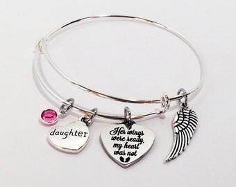 Loss of Daughter, In Memory of Daughter, Child Loss Gifts, Memorial Jewelry, Loss of Daughter Gifts, Daughter Memorial, Memorial Jewelry
