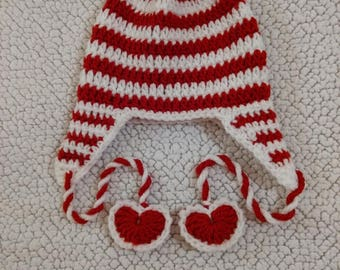 Twisty Valentine Hat
