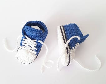 Crochet baby booties, Baby boy booties, Baby boy coming home outfit, Newborn shoes, Baby booties pregnancy announcement, Baby boy shoes