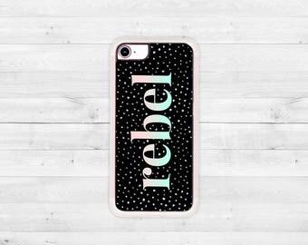 iPhone Case, iPhone 7 Case, iPhone 7 Plus Case, iPhone 6 Case, iPhone 6 Plus Case, Clear iPhone Case, Rebel iPhone 7 Case, RoseGoldRebel