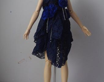 "SD ""Deconstructed Roses"" Dress Set"