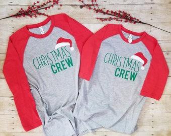 Christmas Crew, Family Christmas Shirts, Matching Christmas Shirts
