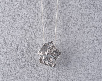 Sterling Silver, Pendant, Silver, Necklace, Contemporary, Present, Gift,Statement, Unique, Mother's Day, Mum, Mother, Mothering Sunday