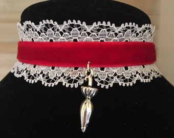 Mary Poppins Inspired Choker
