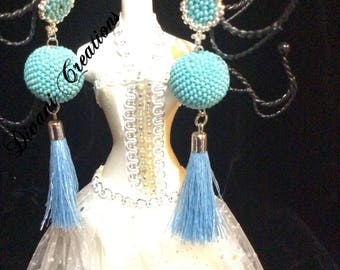 Tutorial of Ms Tassels, Earrings