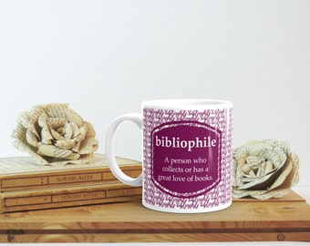 Gift for Bibliophile, Bookish Mug, Book Lover Christmas Gift, Librarian Gift, Bookish Gift, Bookworm Mug, Bookish Gift for Him, Bibliophile