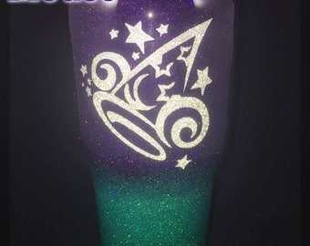 Mickey Mouse - Sorcerers Hat- Magic- Disney Ombre- Yeti or Ozark Trail Tumbler/cup- Customizable