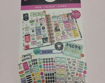 Create 365™ The Happy Planner™ Mom Life Value Pack Stickers 1439 NEW