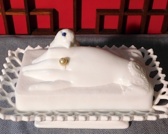 Vintage Atterbury Hand and Dove