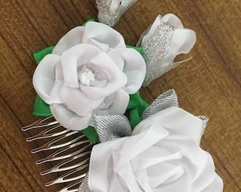 Elegant Rose Hair Comb Accessories