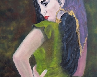 Egyptian Woman - Oil Painting