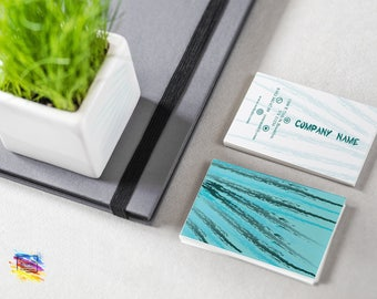 Cactus Design Business Card Cardstock Business card Set Personalized Business Card Logo Design Cards Colorful Printing Two Sides Card CSBC18