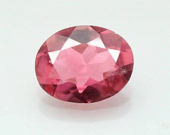 1.56 Cts Natural Pink Tourmaline Oval 7x9 mm Loose Gemstone Genuine  Gemstone