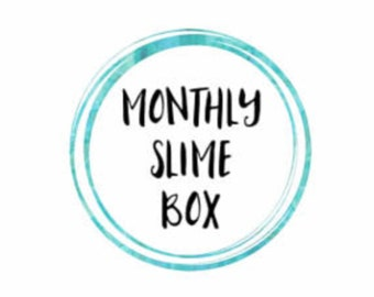 Monthly slime box *READ DESCRIPTION*