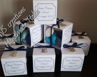 Personalized PVC favor box with Pendant