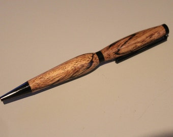 Hand Turned Spalted Beech Pen
