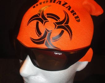 BIOHAZARD Oversized Beanie (New Without Tags) D.F.L. ~ Brooklyn/NYC HardCore