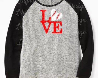 Softball Love SVG DXF PNG, sports svg, baseball svg, softball monogram, baseball love svg, baseball shirt svg, softball shirt svg