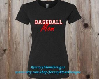 Baseball Mom T