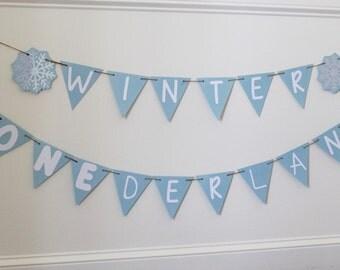 Winter Onederland banner; Winter Onederland decorations; Winter Onederland decor; Winter Onederland boy; Winter Onederland girl