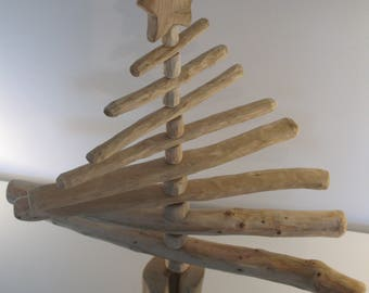 A Wooden Christmas Tree