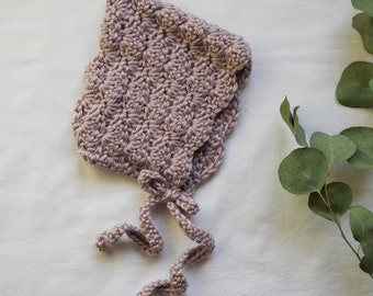Emma Lavender Bonnet