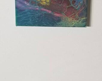 8x8 acrylic paintings