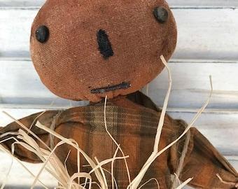 Primitive Pumpkin Scarecrow