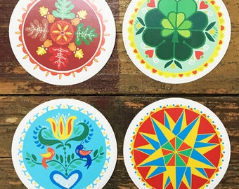 Series 2: Vinyl Hex Sign Sticker Pack