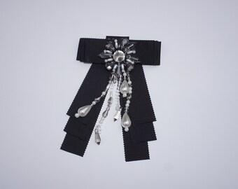 Designer Inspired Bow Brooch