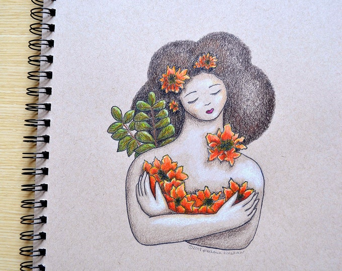 Nandi • 9x12 Illustration