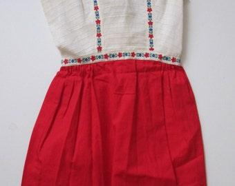 Sale! Vintage Lanz German Style Dress