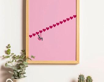 Love Lifting Me Higher Print