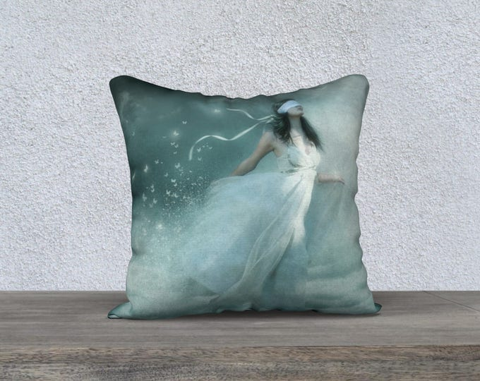 fantasy art pillow cover 18x18 inches