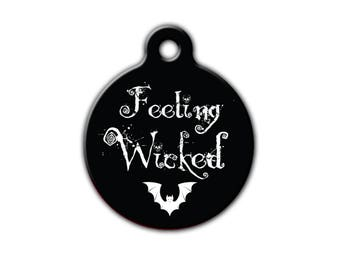 Halloween Pet ID| Spooky Pet tag| Pet Tag| Cat Id Tag| Autumn Pet Tag| Dog id tag| Fall Pet| Pet name tag|Halloween Pet| PET202