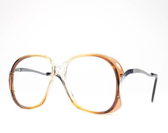 1970s Glasses | 70s Vintage Eyeglasses | Oversized Glasses Frames | Seventies Deadstock Eyewear - Winnie 3