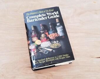 Vintage Book Complete World Bartender Guide