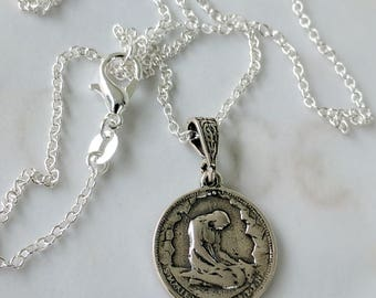 Necklace - Marie Madeleine PPN - Sterling Silver - 18mm
