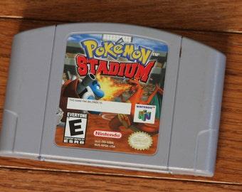 Pokemon Stadium 64 Nintendo 64 PokemonStadium TESTED WORKING N64 Game Cartridge Great Vintage Game