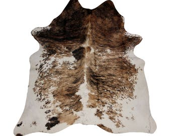 Western Rug - Rare Spotted Cowhide Rug - Rarebreed Cowhide