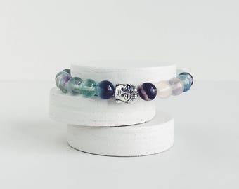 DETOX MALA Fluorite Gemstone Bracelet