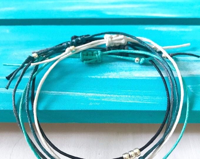 Minimalist Beaded Stack Bracelet, Simple Layering Bracelet, Simple Stack Bracelet, Good Gift Bracelet, LaSirrena