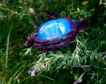 Enchanted Woodland Opalite Nature-Inspired Pendant