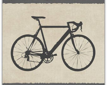 Cycle Road Bike Vélo Cycling personalisable personalised greeting card 15cm x 21cm by Card Bubble