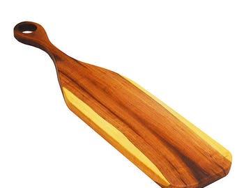 Wood Cutting & Serving Board Plum Wood Handmade