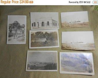 Summer Sale 7 Vintage 1900s RPPC Real Photo Postcards of Hati