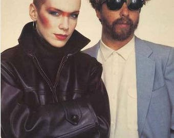 The Eurythmics 1983 Band Rare Poster